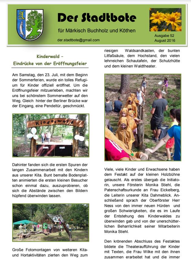 Ausgabe 52 - August 2016