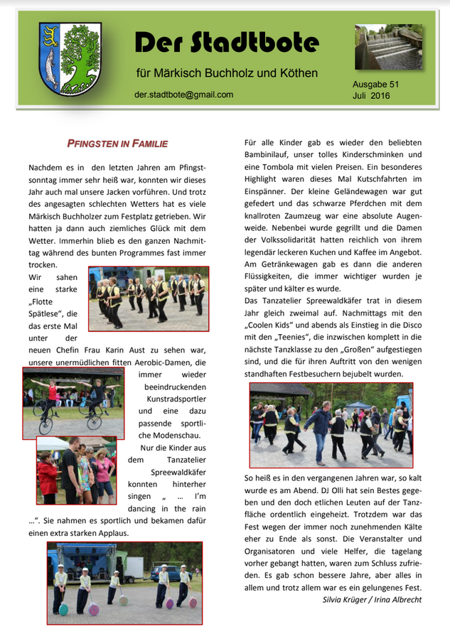 Ausgabe 51 - Juli 2016