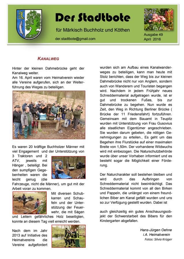 Ausgabe 49 - April 2016