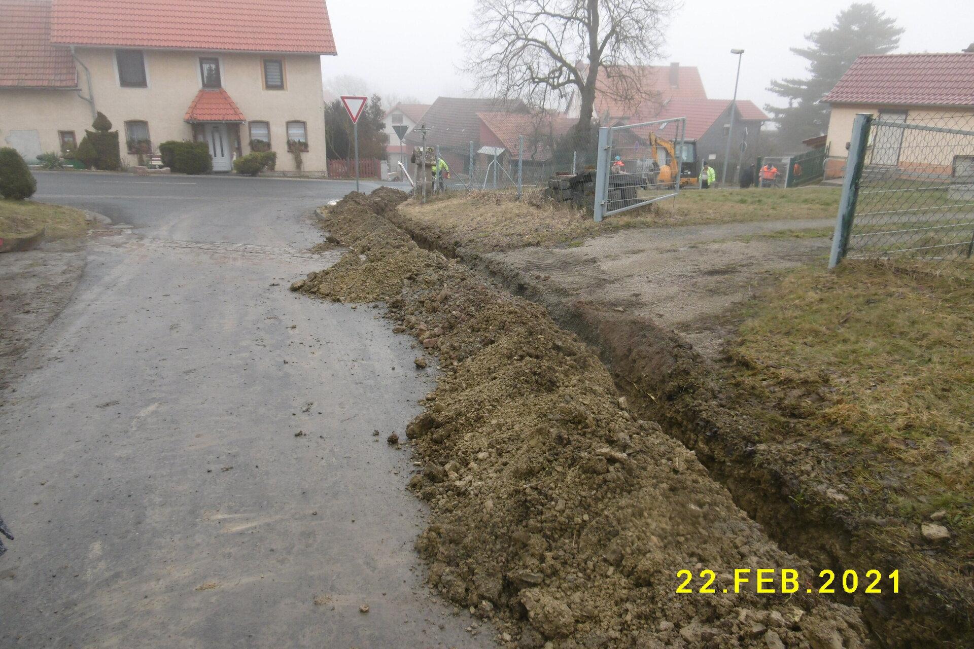 Bau in Wachenbrunn