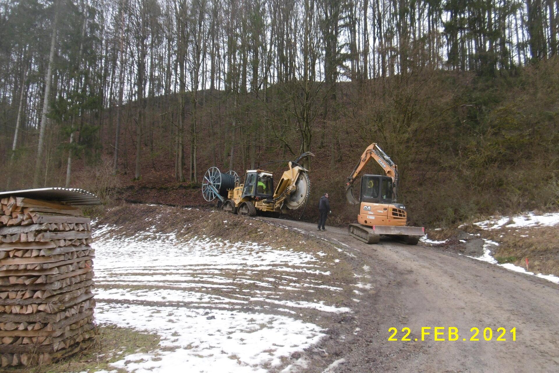 Bau im Bereich Tachbach