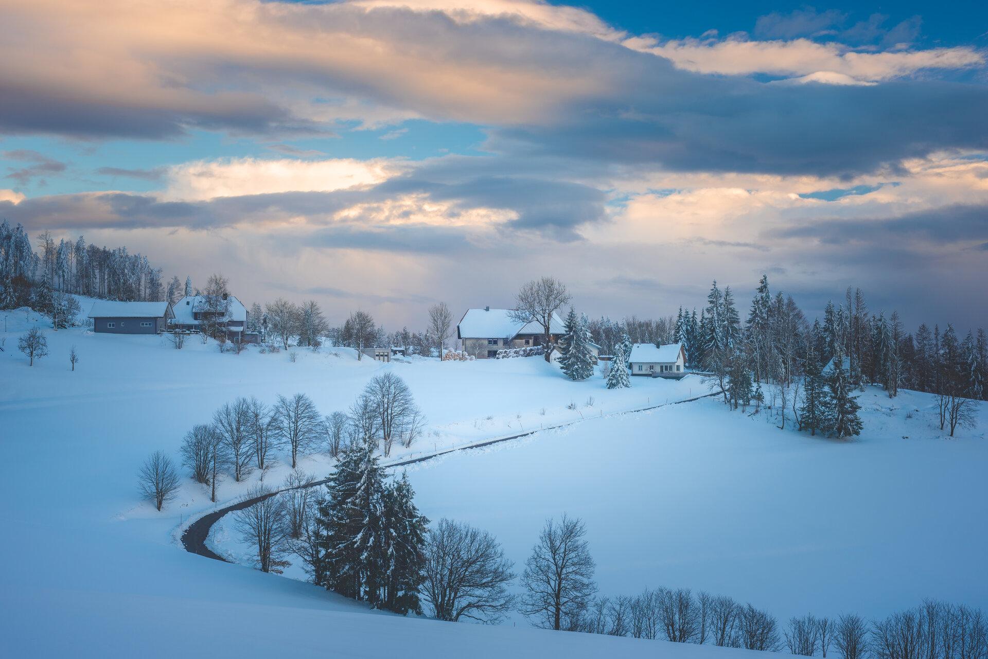 Winter in Hornberg