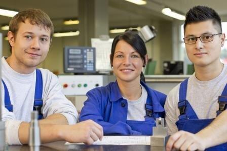 Einblick in Berufe in der Industrie