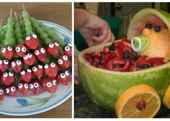Obst-Schnitzen