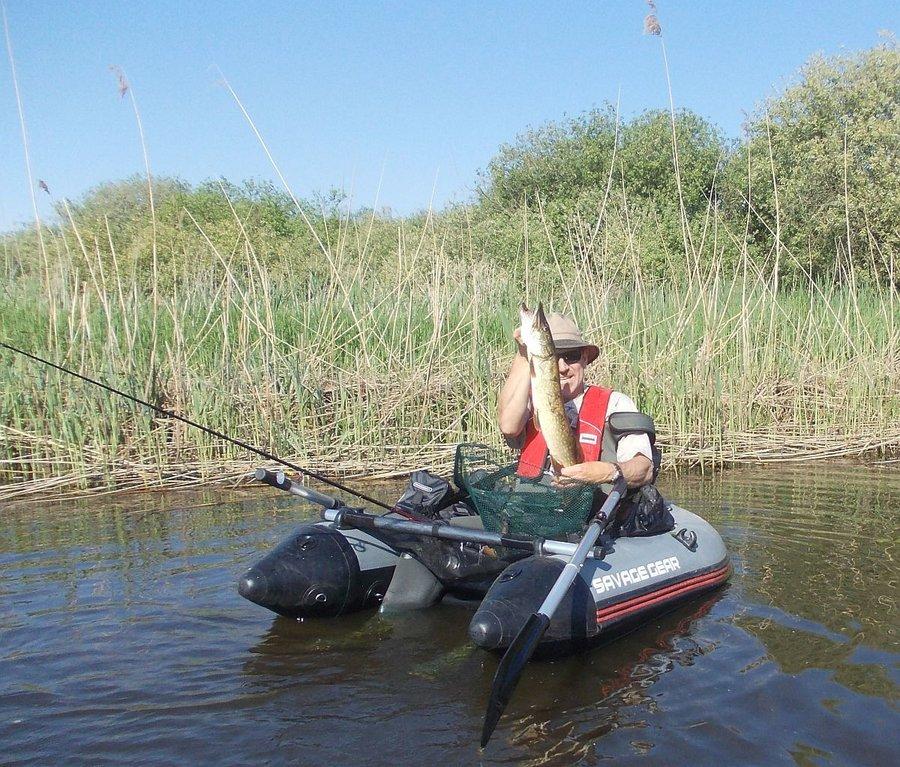Mit dem Belly Boot auf der Recknitz - Marlower Kanu- & Bootsverleih