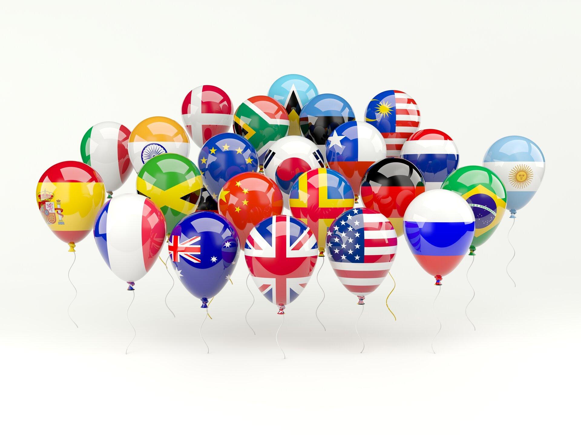 Luftballonflaggen