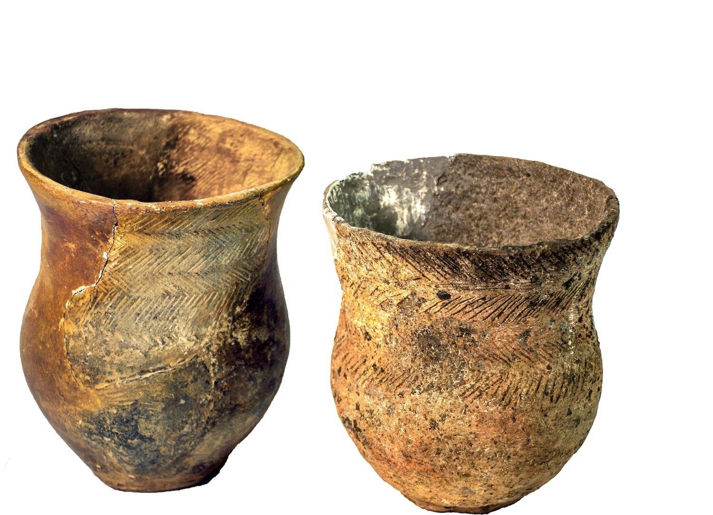 jungsteinzeitliche Gefäße aus dem Museum AngermündeBild 2