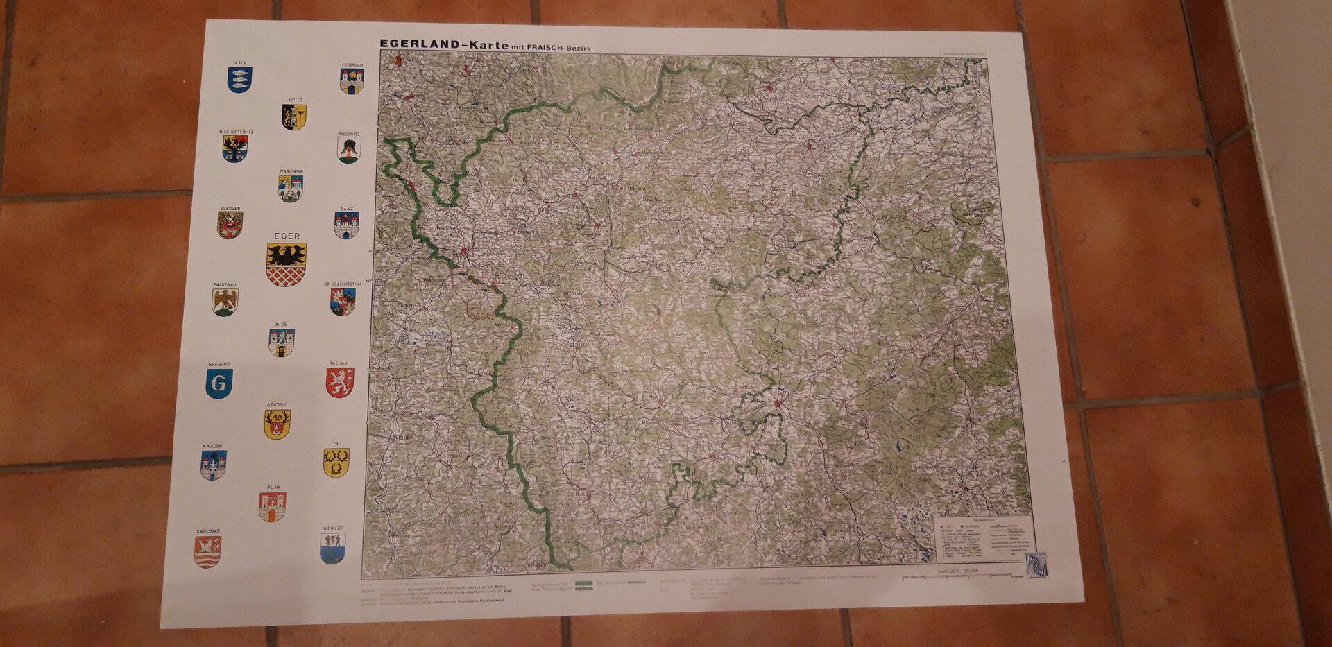 Egerlandkarte