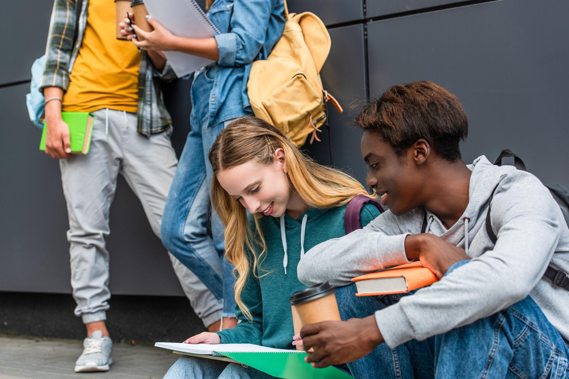Vielfalt bei jungen Menschen