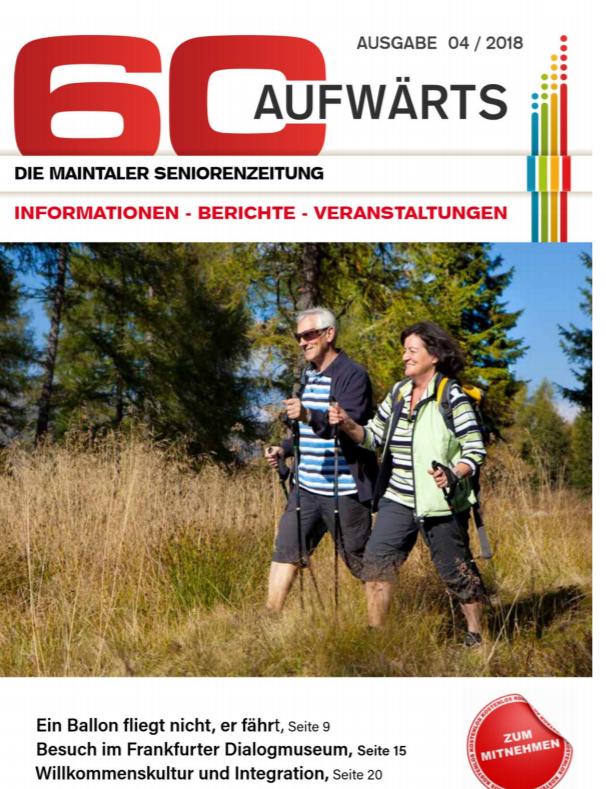 Bild zeigt Cover der 60 Aufwärts 4/2018