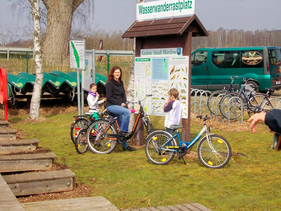 Fahrradverleih im Recknitztal - Marlower Kanu-& Bootsveleih