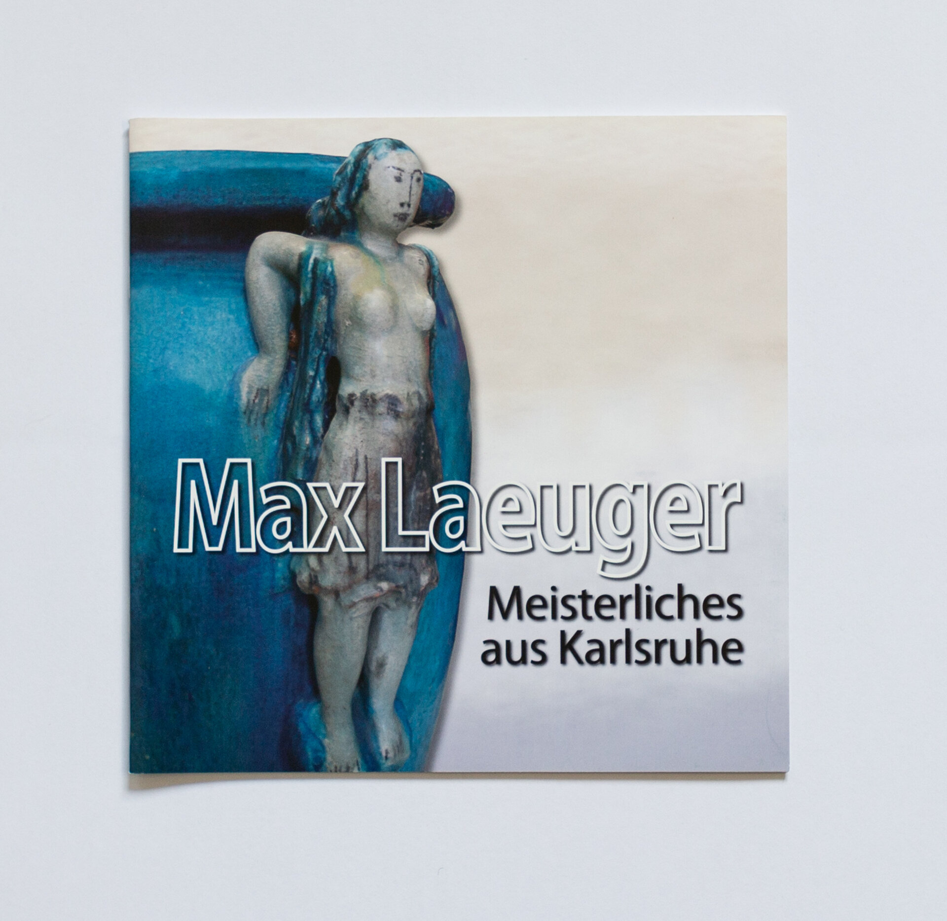 Broschüre Max Laeuger