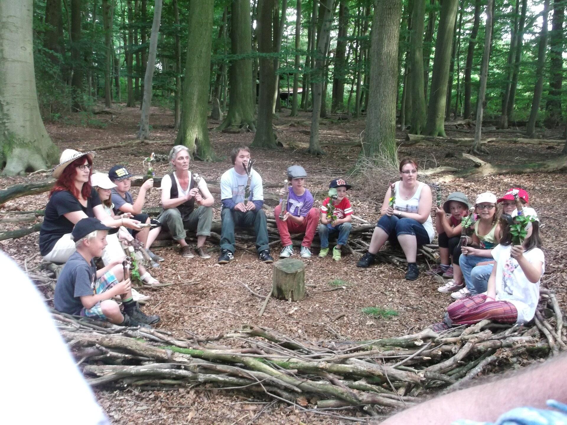 Waldprojekt der Waldmarie Vera Henze
