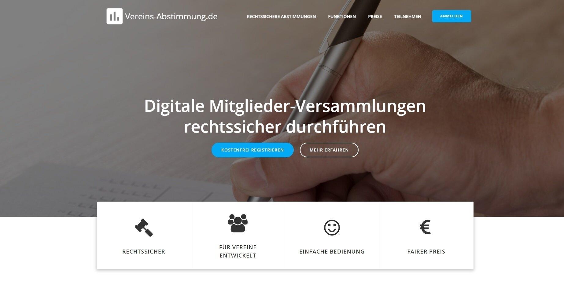 Online-Abstimmungstool