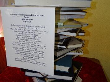 Bücherturm zur Garlitzer Geschichte