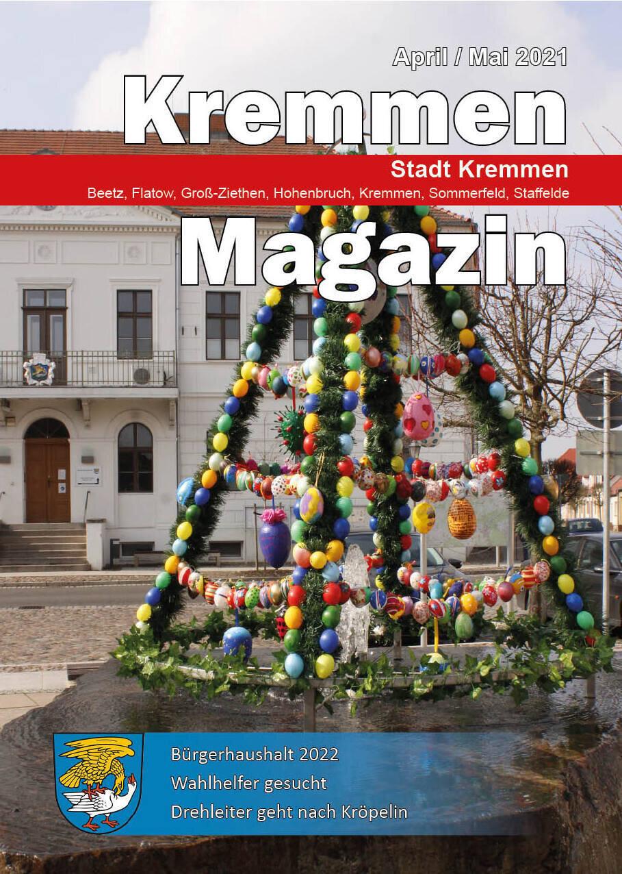 Kremmen Magazin 02/2021