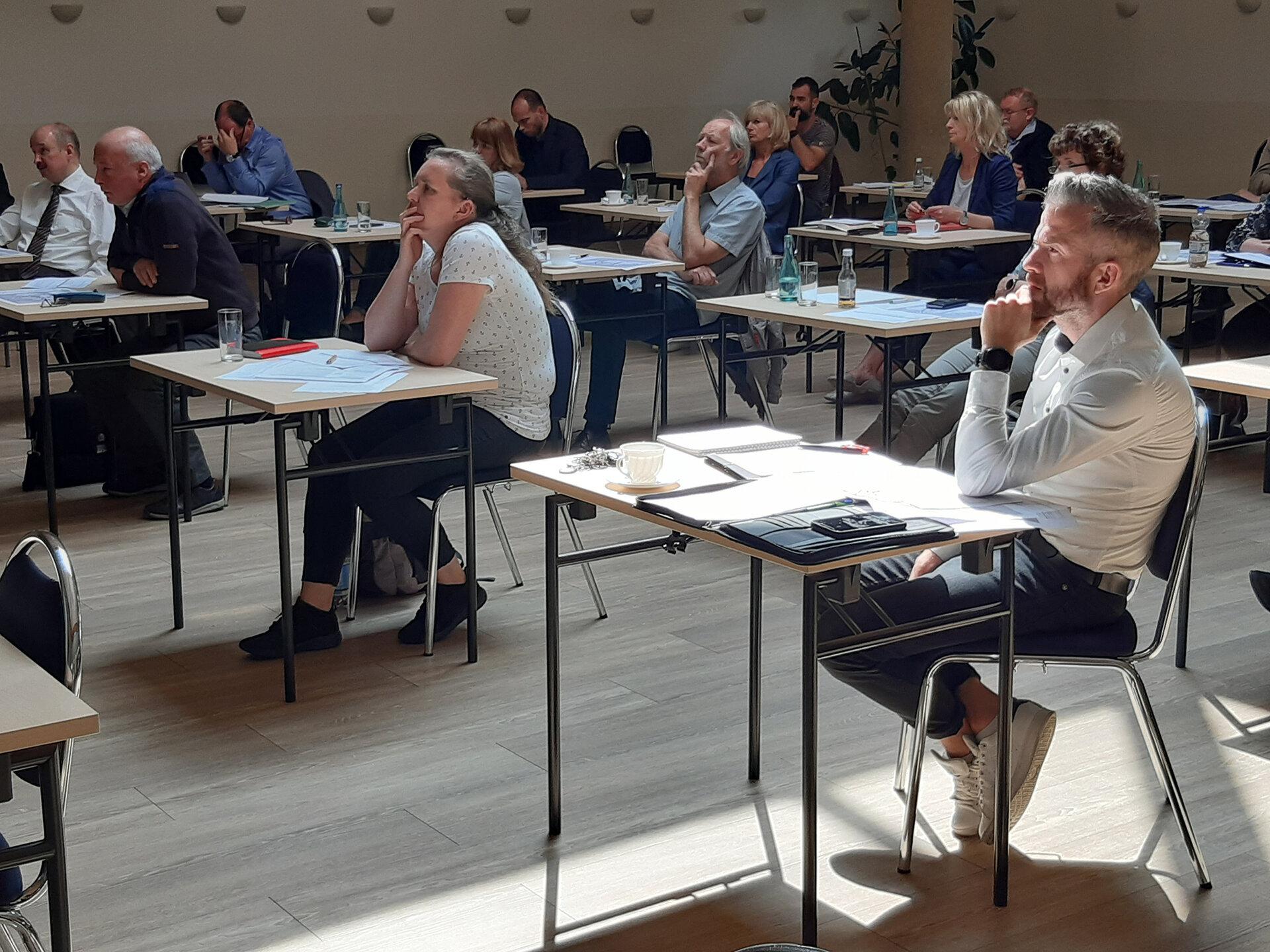 Intensives Arbeiten im Dialogforum (c) Dorothea Götze