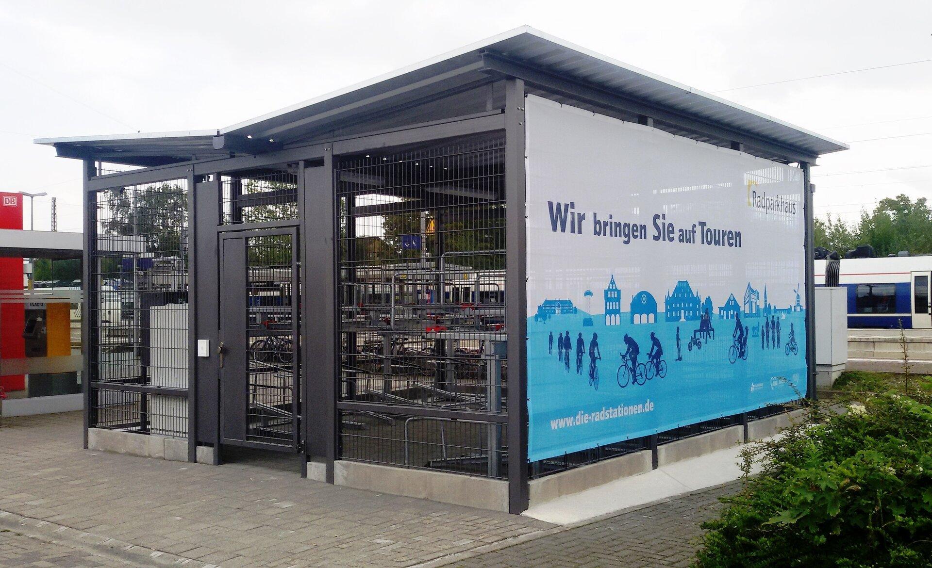 Radparkhaus Bahnhof Holzwickede