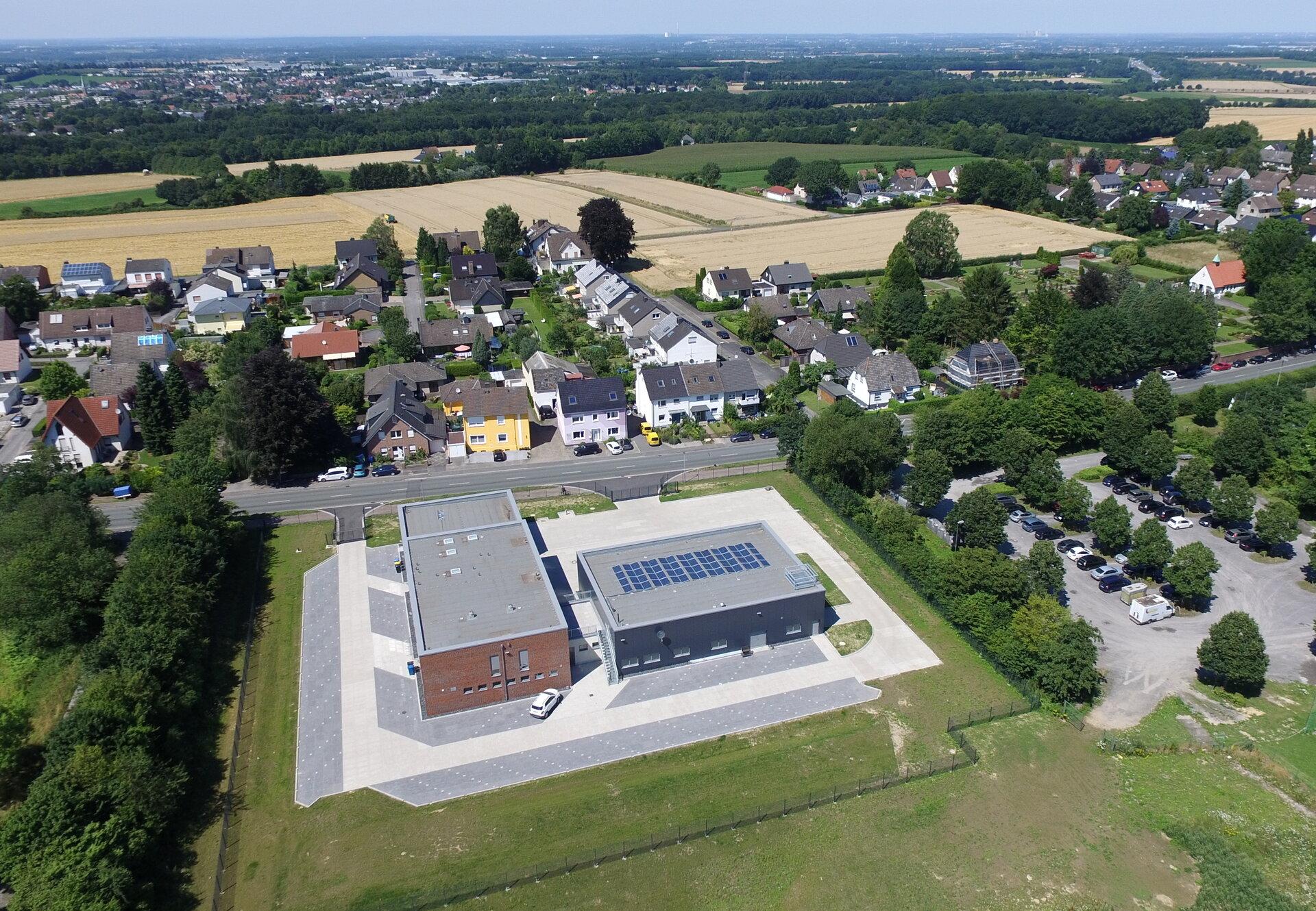 Solaranlage Feuer- und Rettungswache Süd