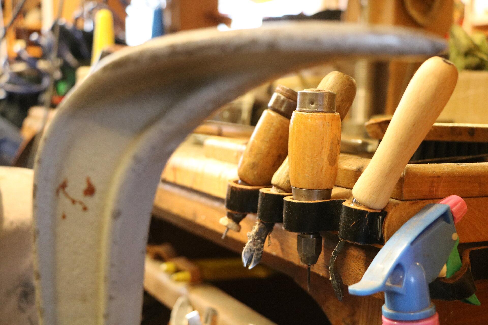 Werkzeuge der Schuhmacher