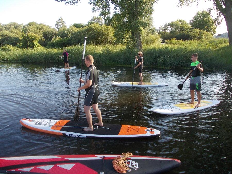 SUP  Kurse auf der Recknitz - Marlowr Kanu- u. Bootsverleih