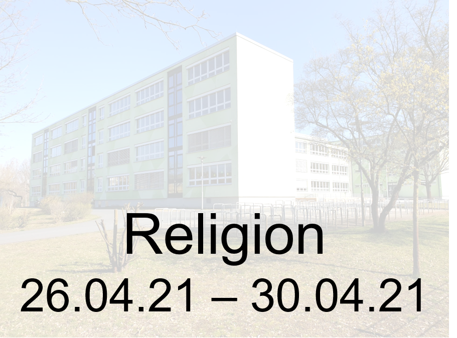 26.04.-30.04.21 Religion