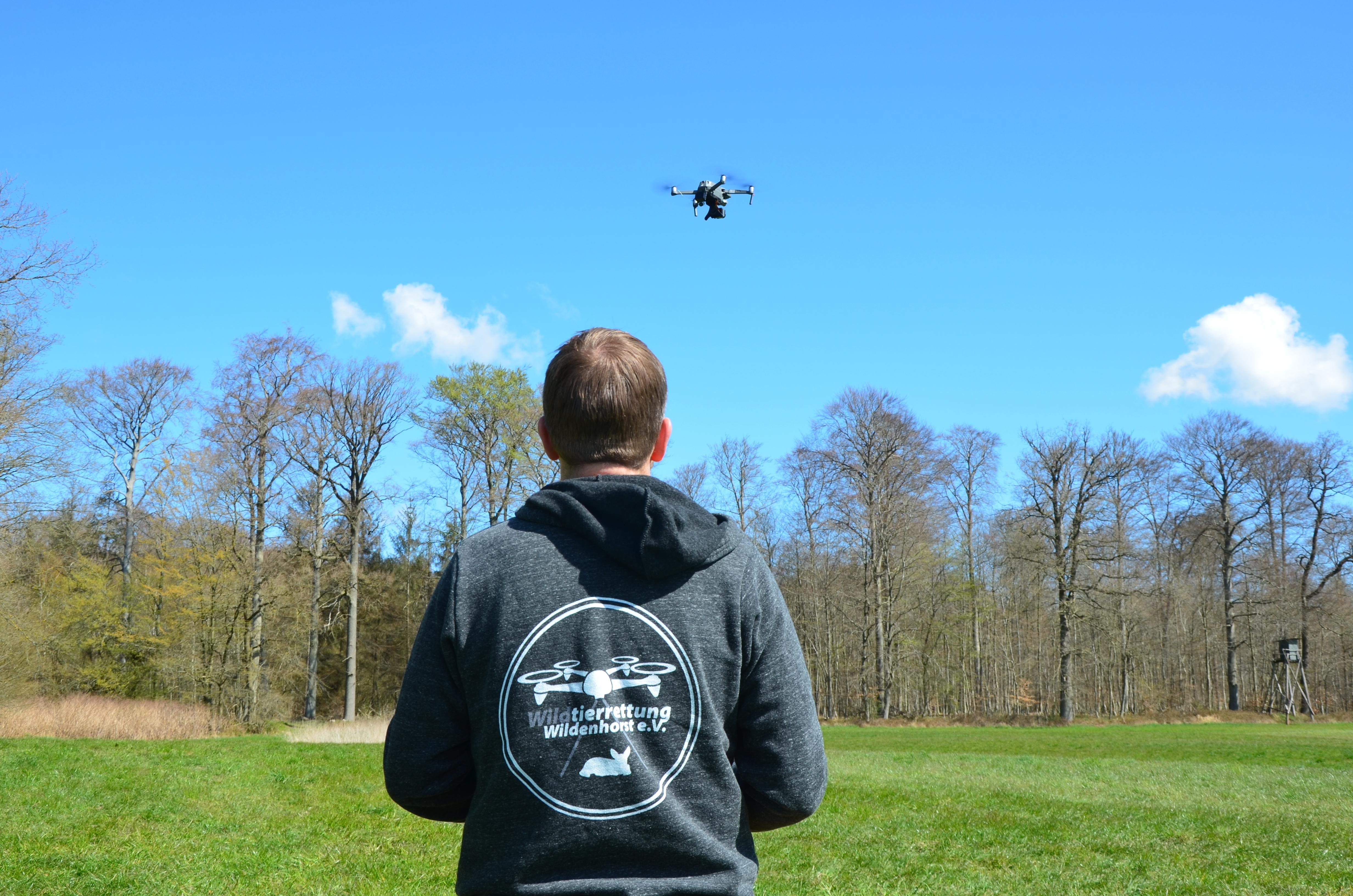 Drohnenpilot Karsten