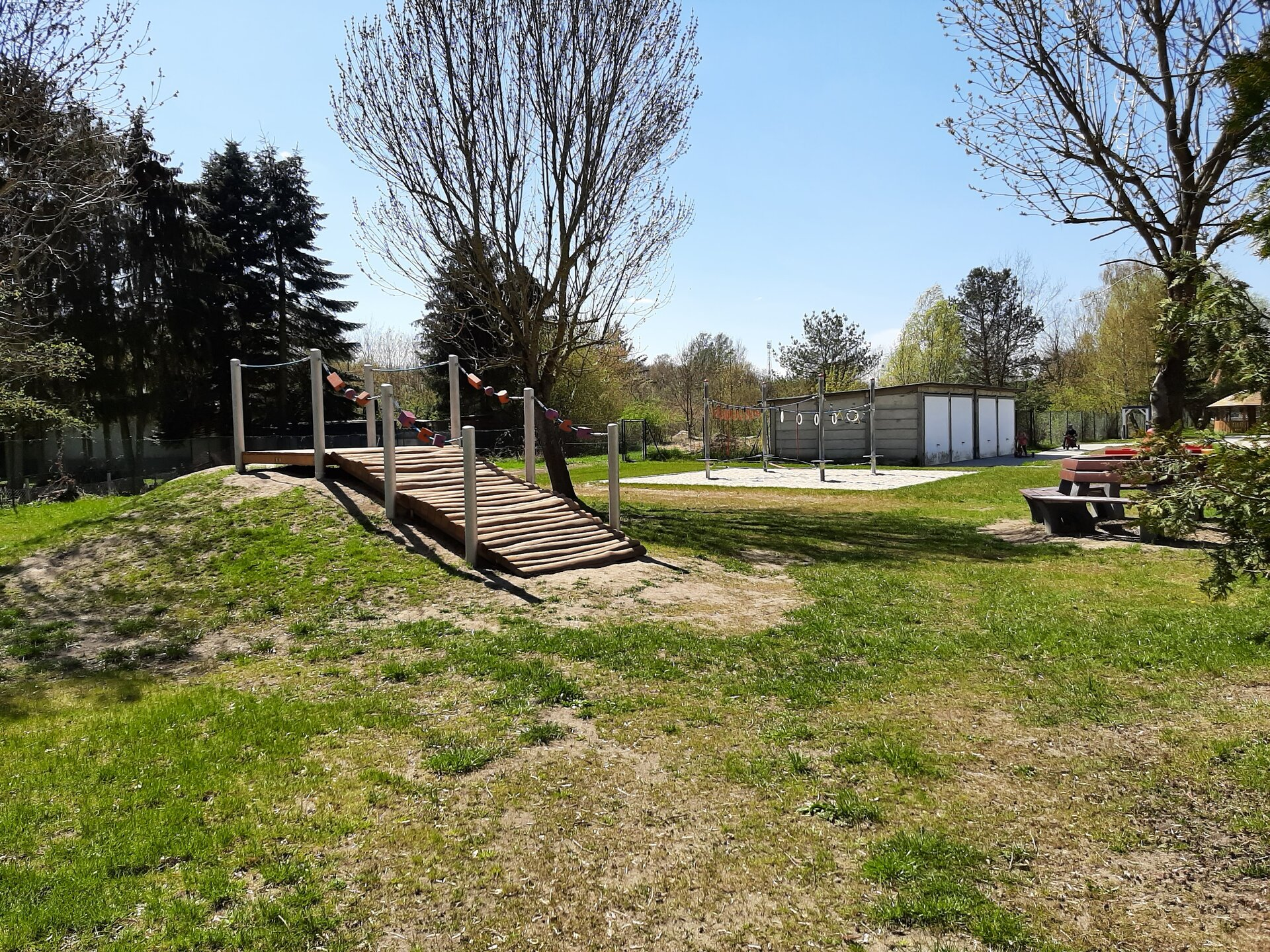 Garten der Kita Rappelkiste