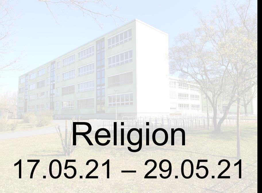 17.05.-29.05.21 Religion