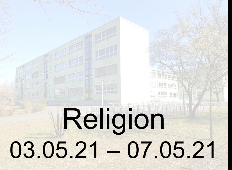 03.05.-07.05.21 Religion