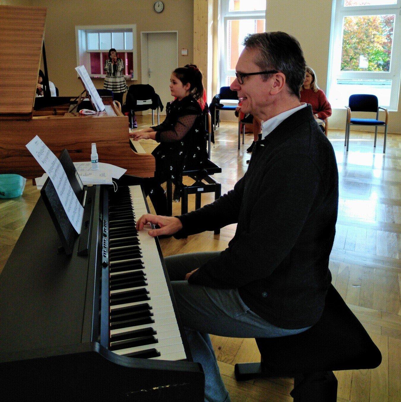 Klavierworkshop in Parchim mit Prof. Stephan Imorde
