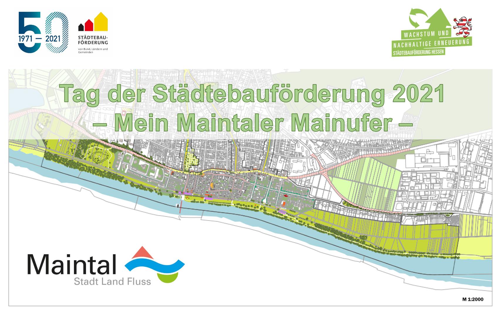 Tag der Städtebauförderung 2021 - Stadt Maintal