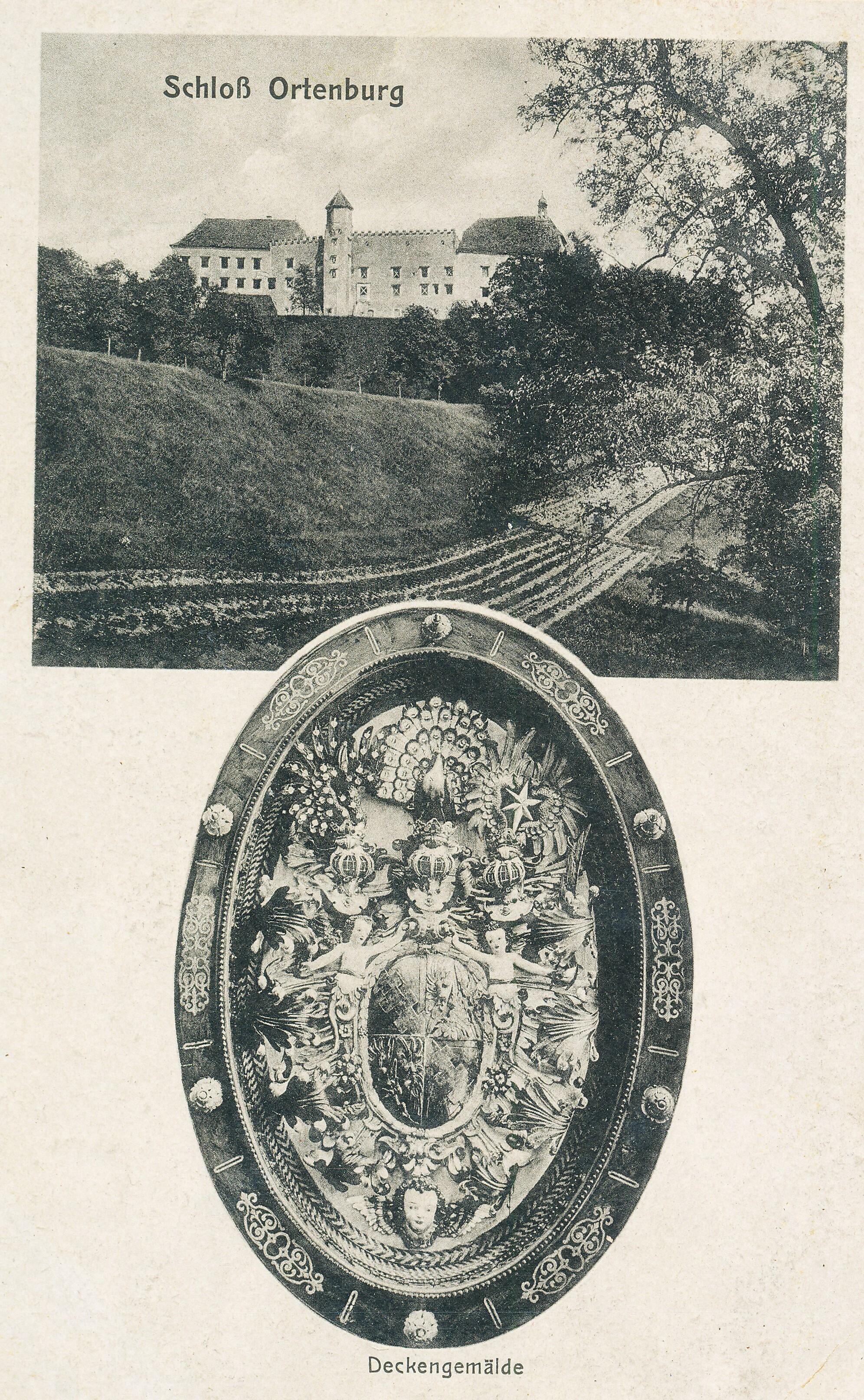 Schloss Ortenburg um 1910