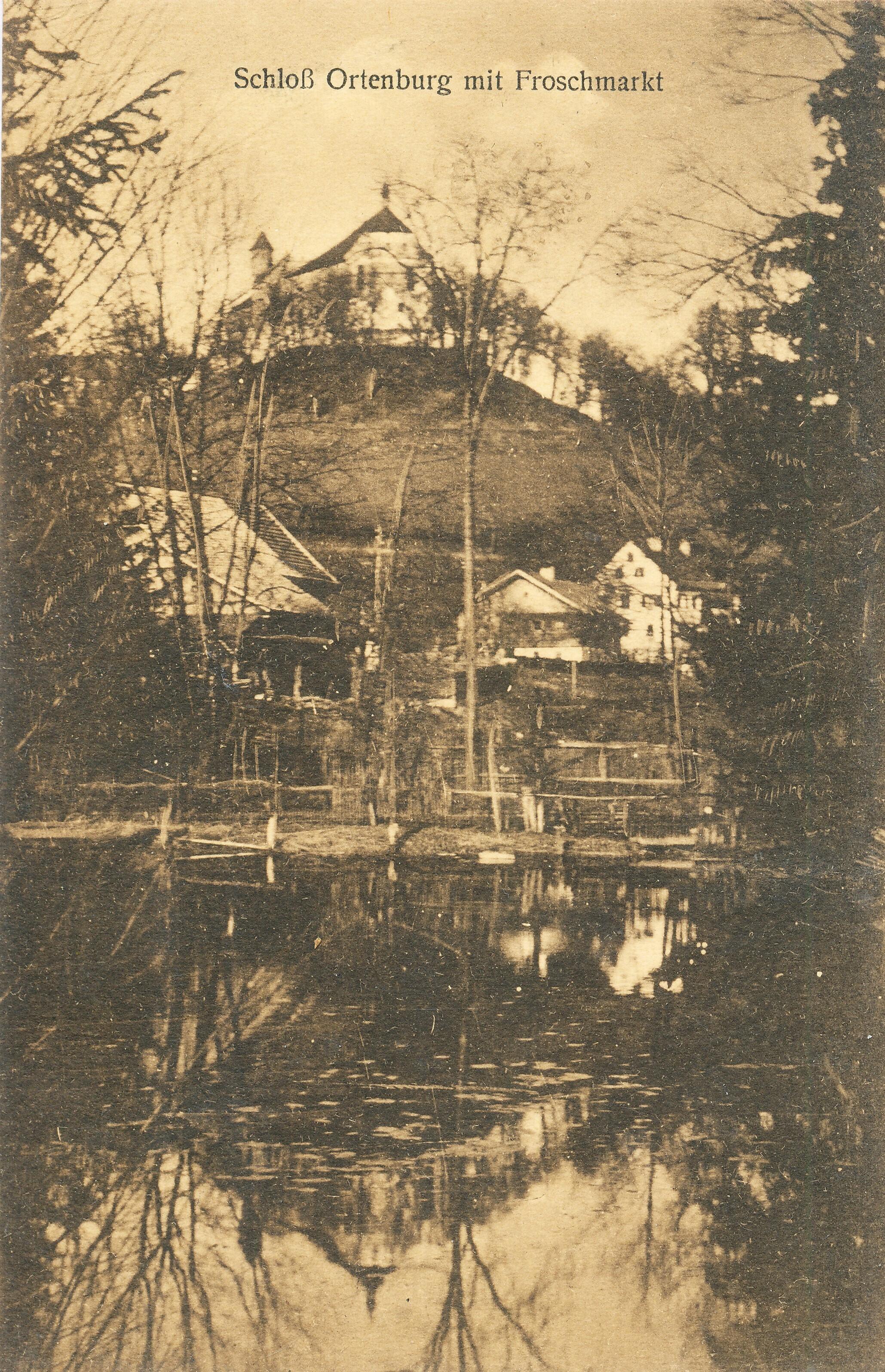 Schloss Ortenburg um 1925