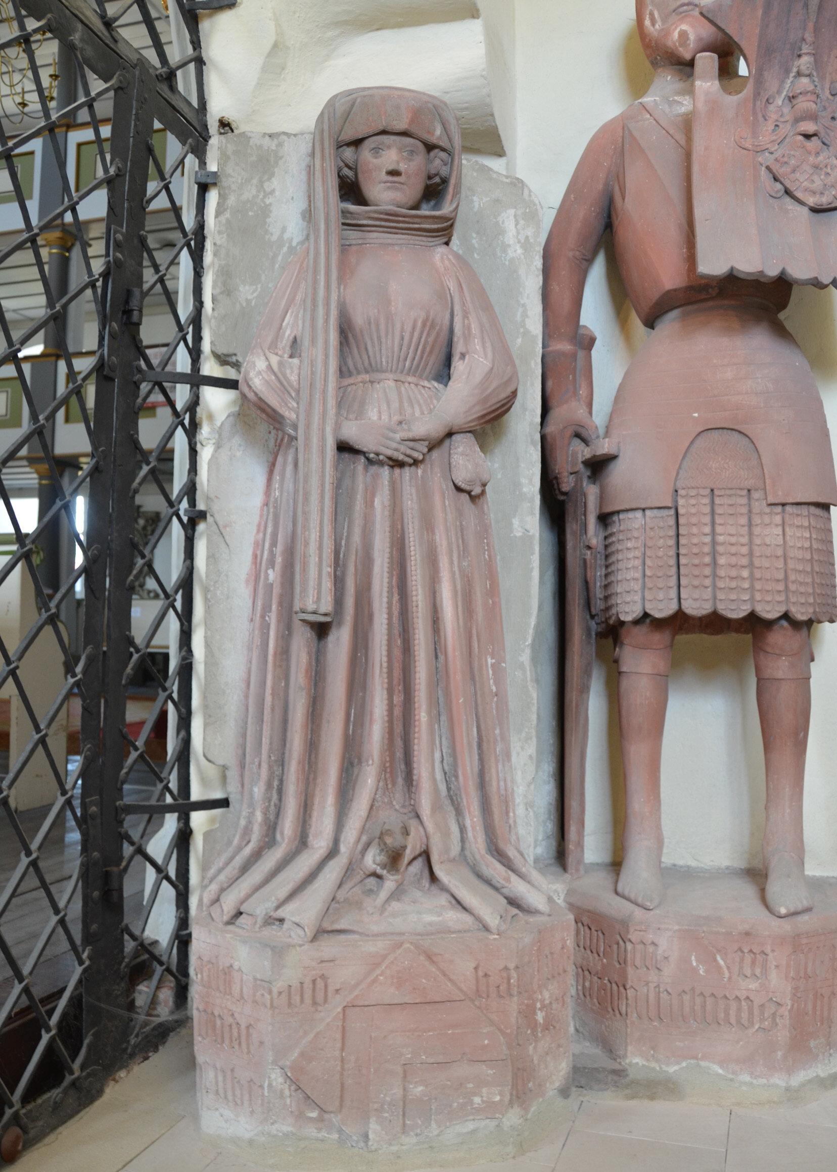 Grabmal der Katharina von Hanau (+ 1459)