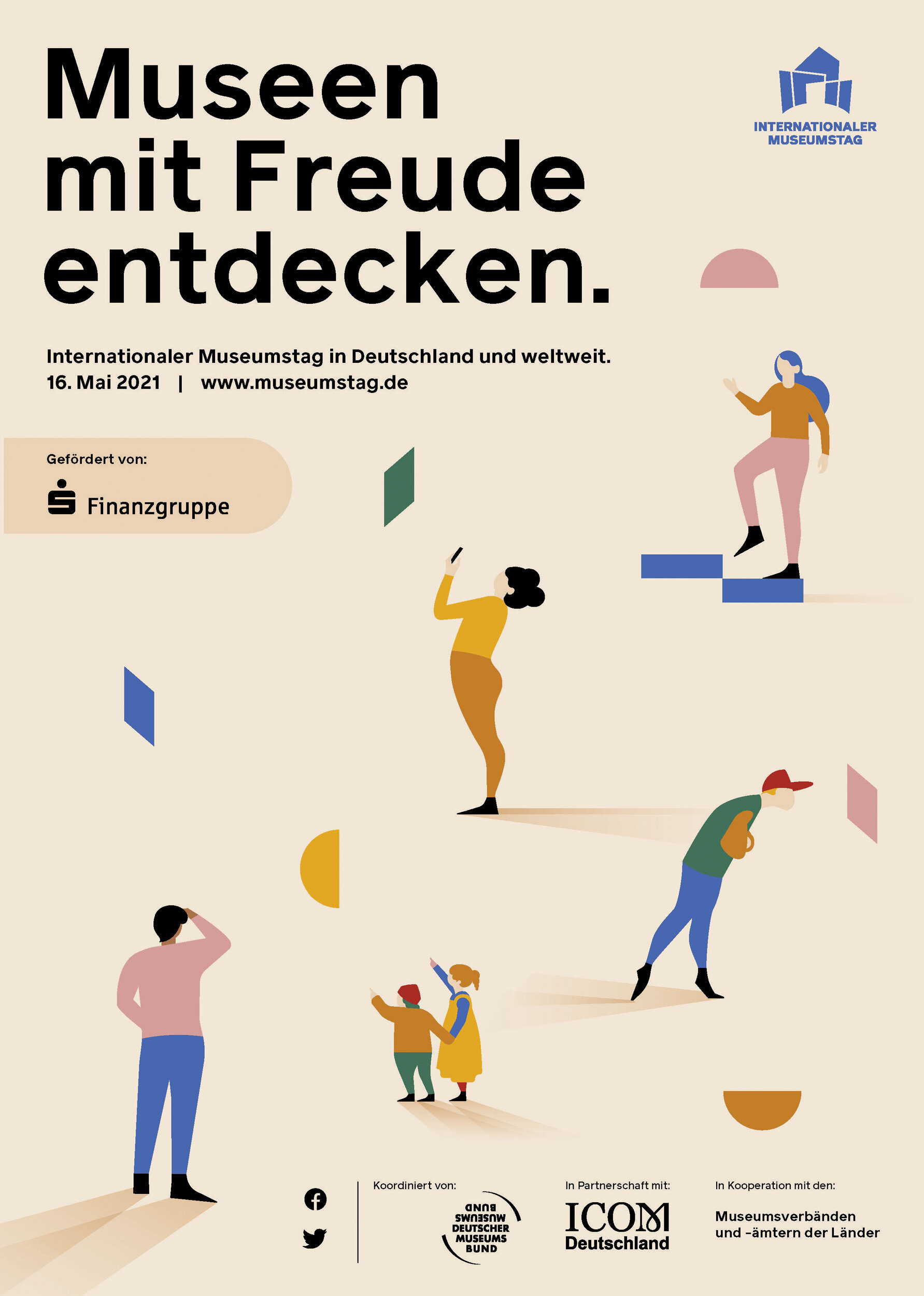 Plakat Museumstag 2021