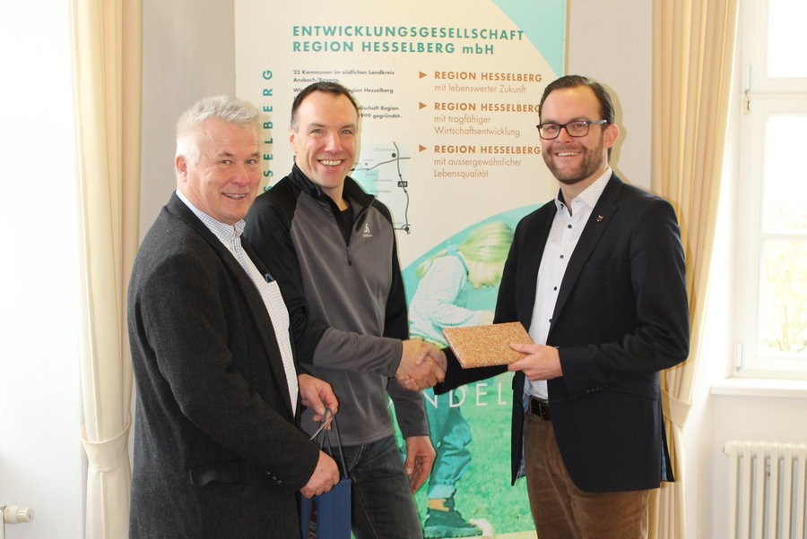 Thomas Kleeberger, Oliver Sollbach und Michael Sommer (v.l.)