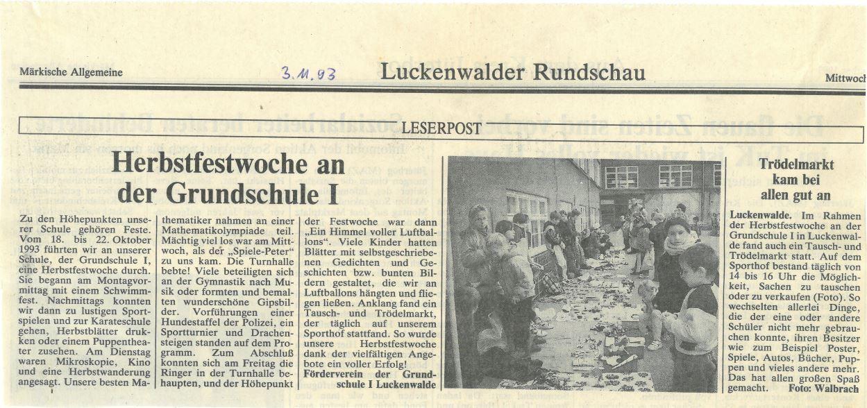 Herbstfest 1993