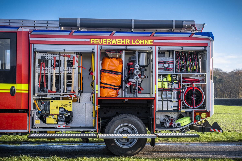 HLF 20 Geräteraum links