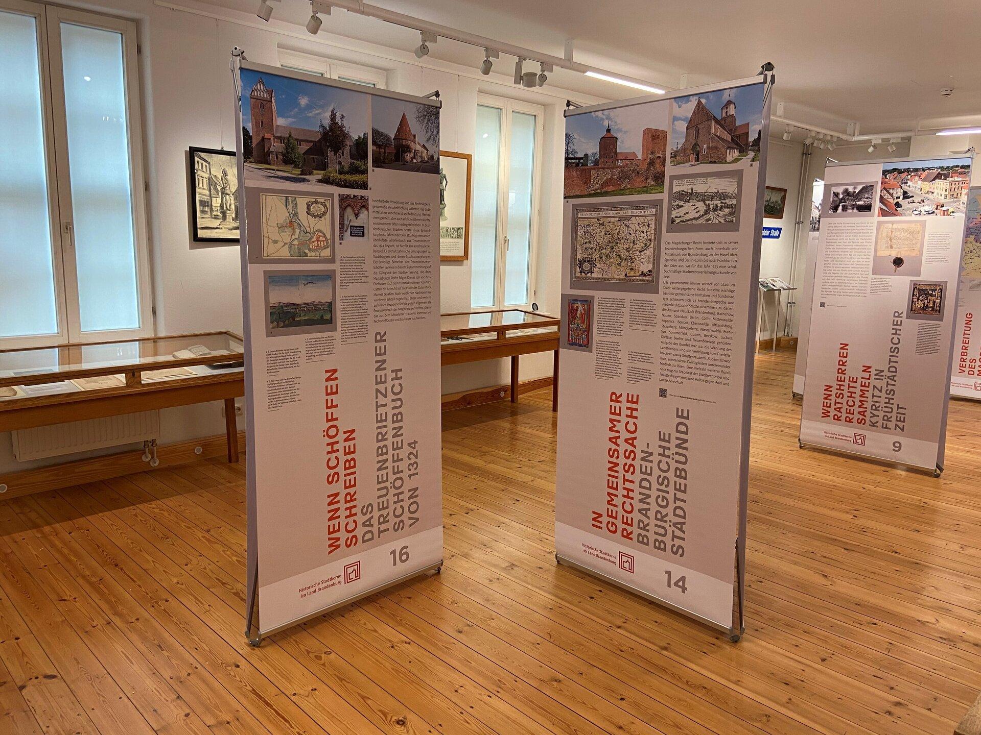 Einblick in die neue Ausstellung im Museum   Foto: Stadt Perleberg