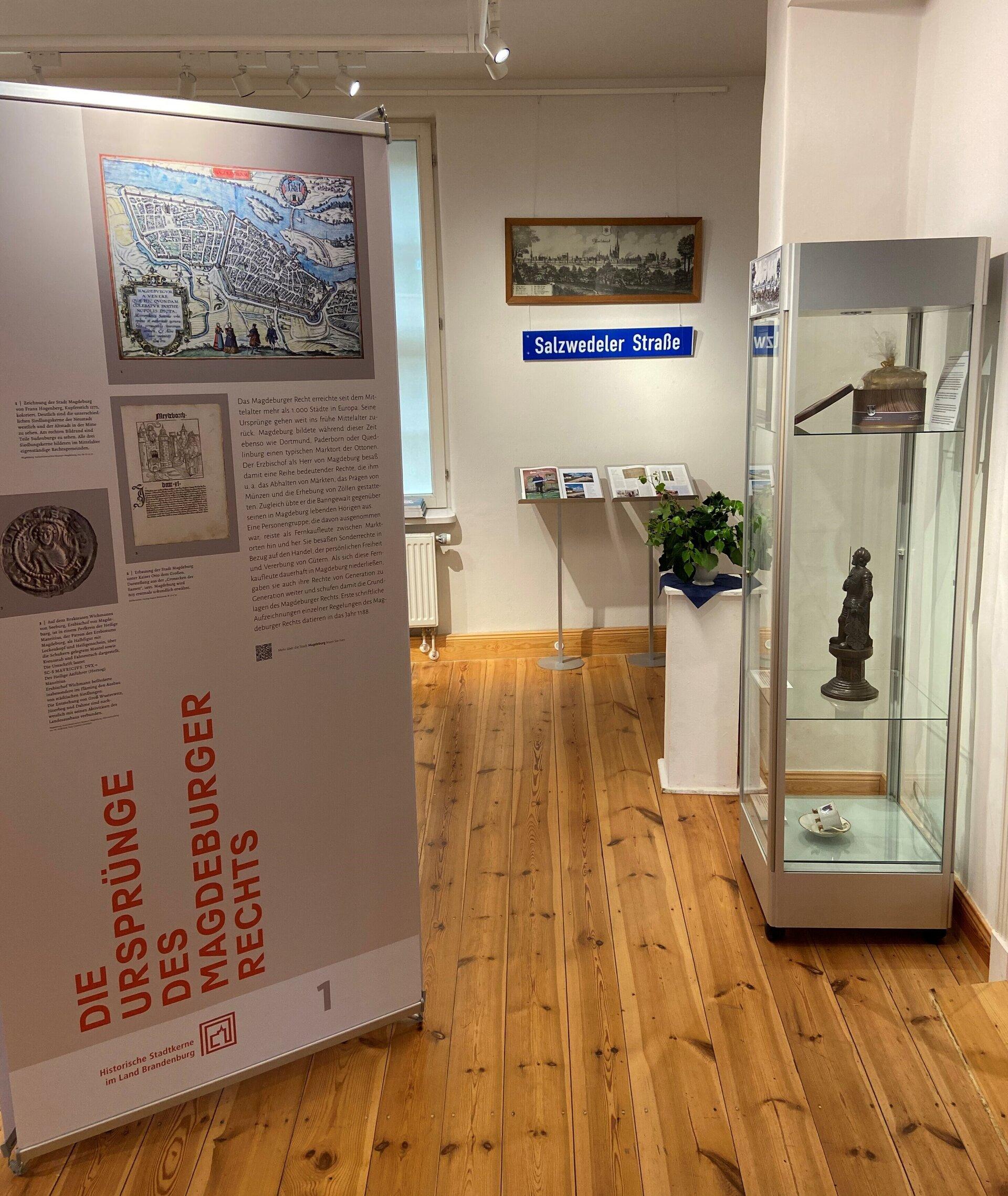 Einblick in die Sonderausstellung des Museums   Foto: Stadt Perleberg