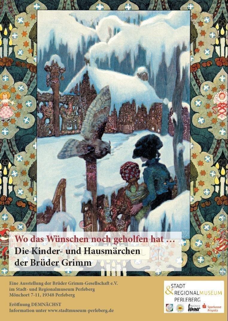 Plakat zur Märchenausstellung