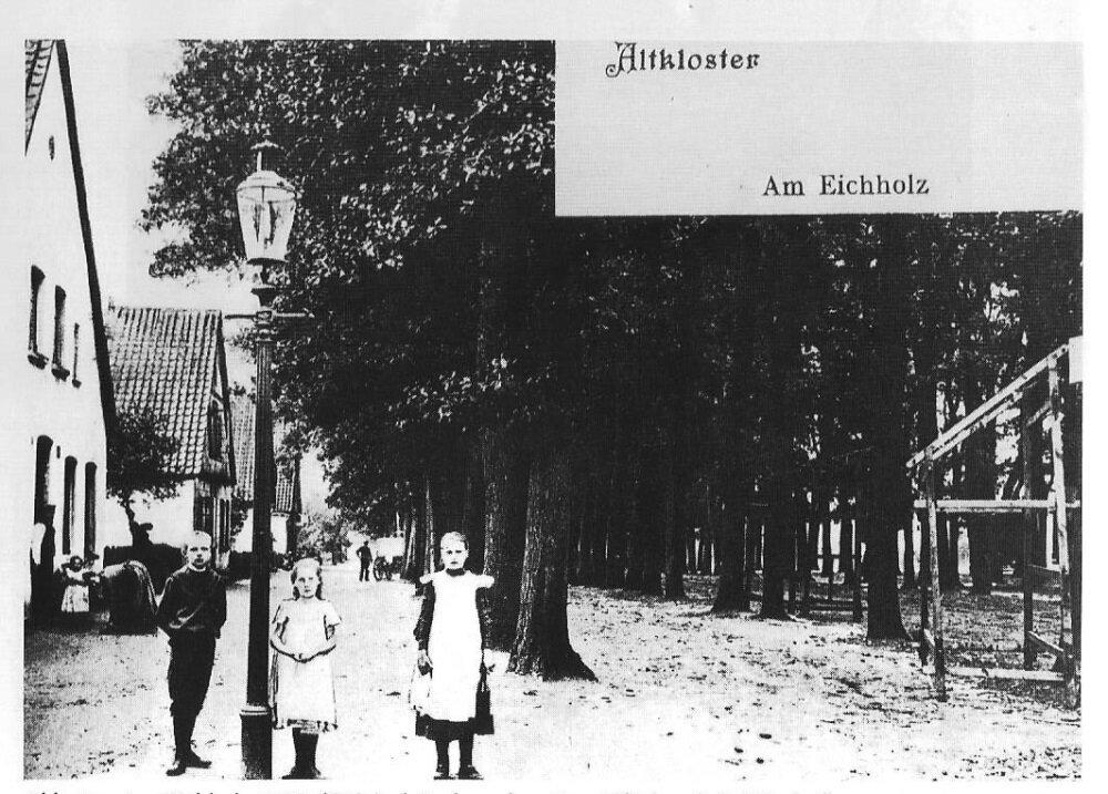 Am Eichholz - Postkarte von 1914 - Foto; Rademacher