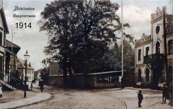 Hauptstraße Hotel Waldschloss 1914