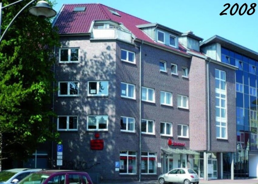 2008 Sparkasse und Altenwohnungen