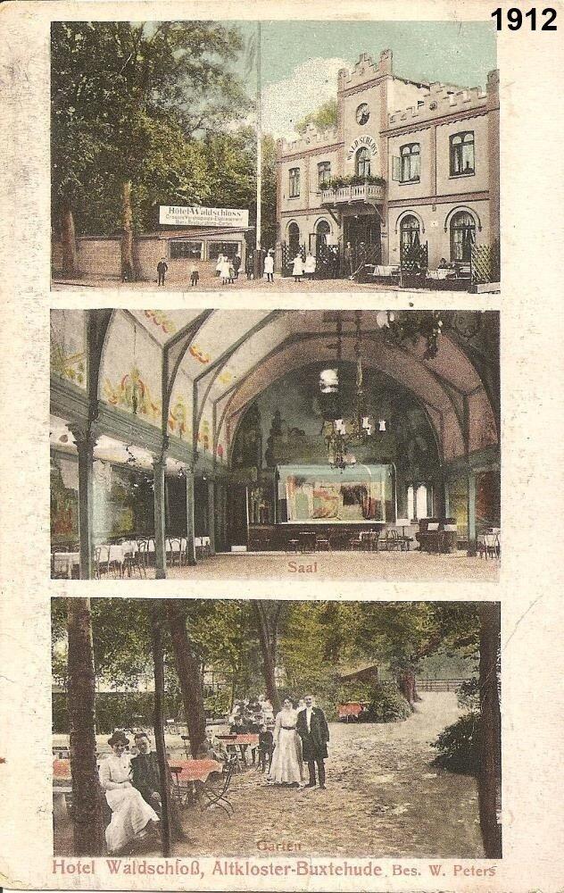 Hauptstraße Hotel Waldschloss 1912
