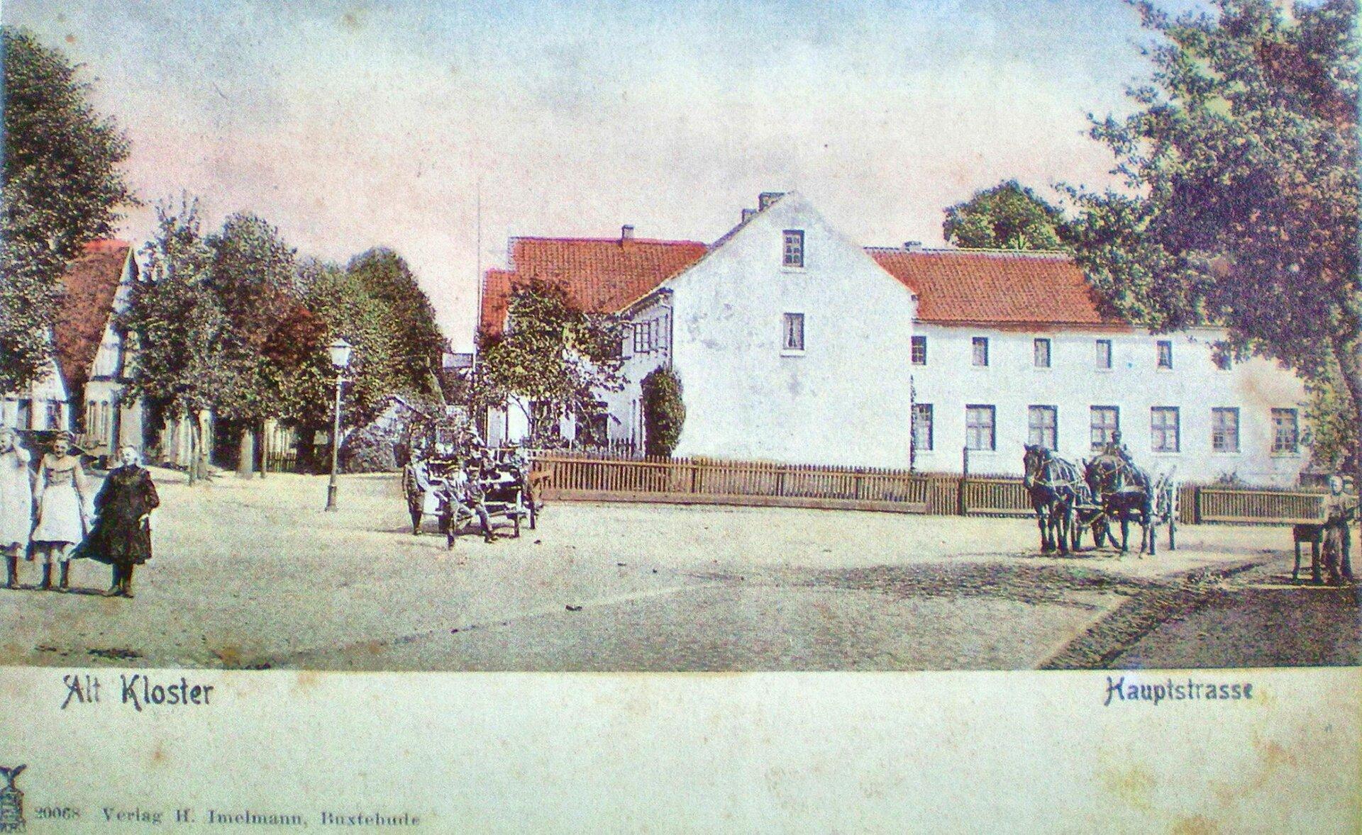 Hauptstraße Postkarte