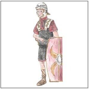 Römischer Legionär