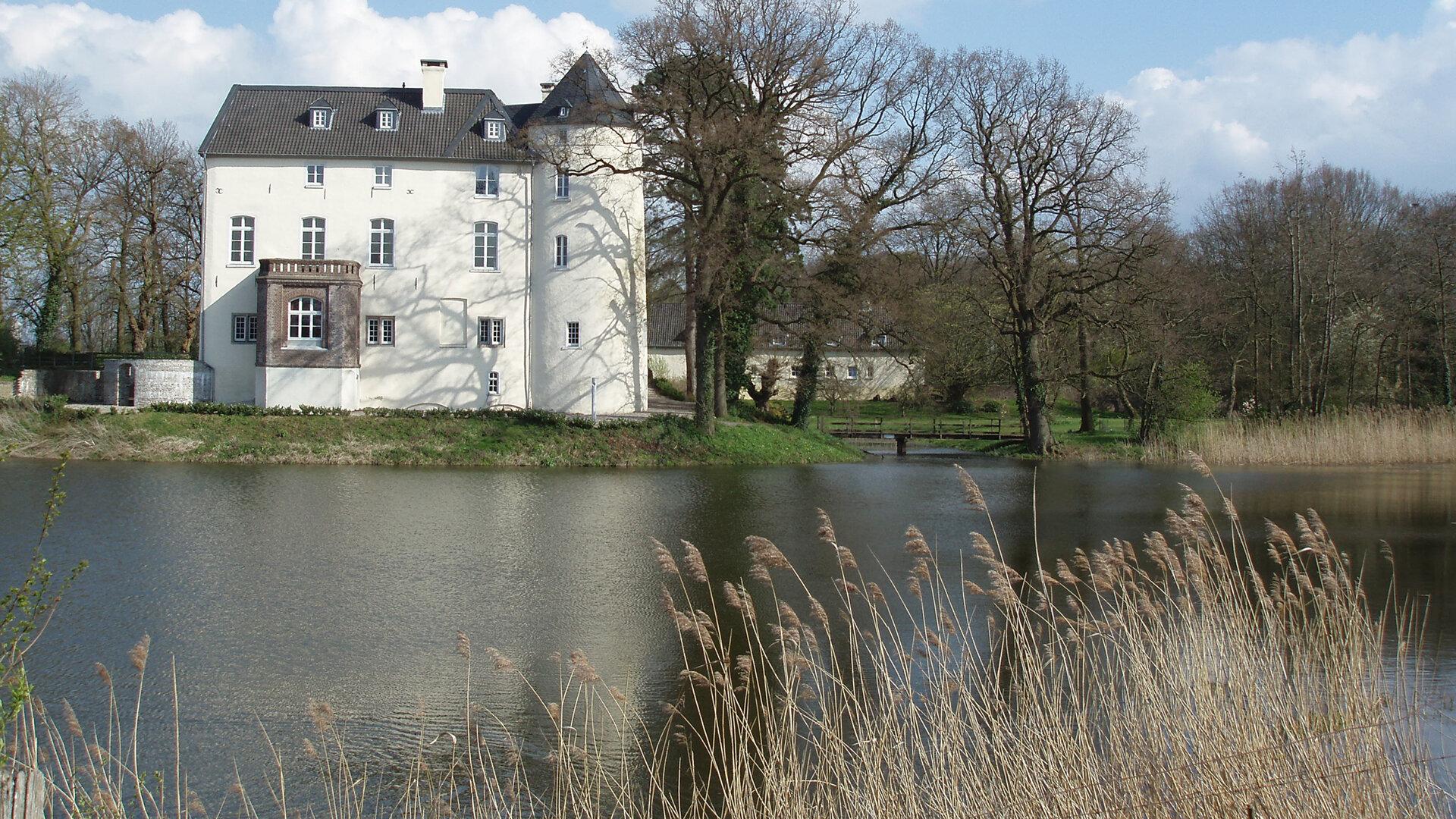 Die Burg historische Rückseite