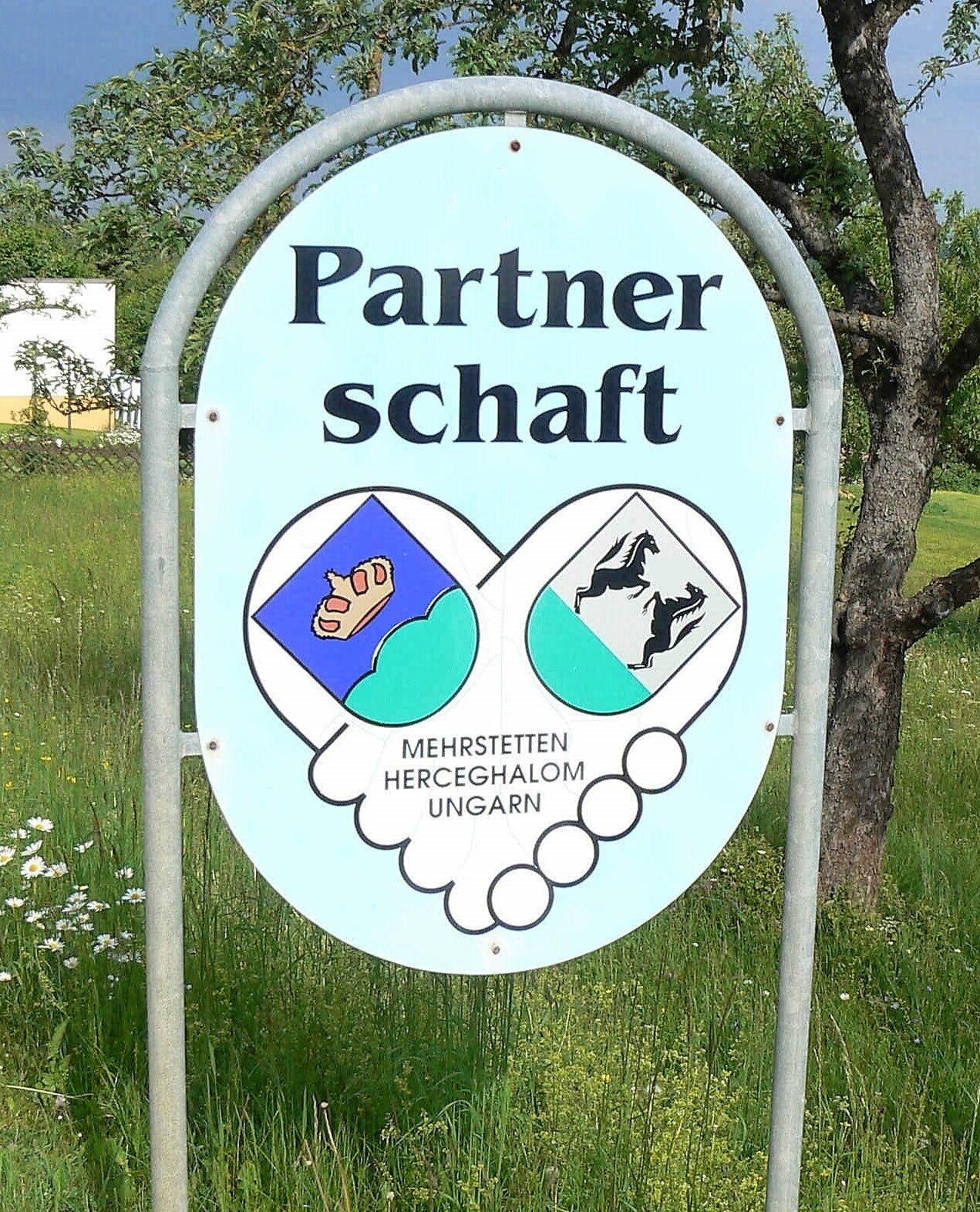 Partnerschaftsschild